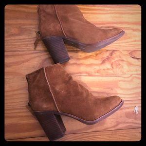 Suede brown Aldo boots